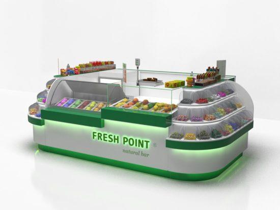Торговый островок FreshPoint (проект)