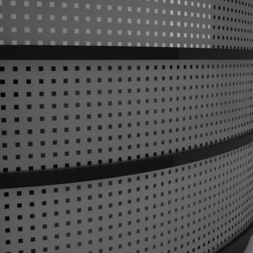 Перфорация в дизайне мебели