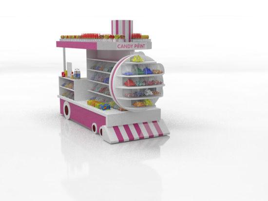 Уникальный проект Паровозик для CandyPoint