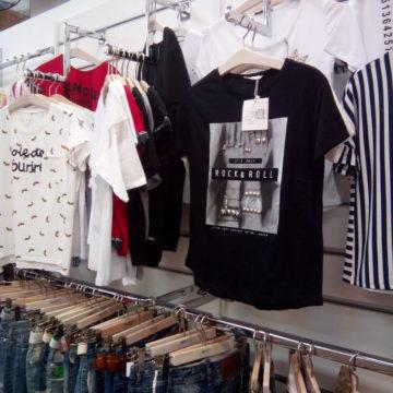 Торговое оборудование для магазинов одежды. Экономпанели