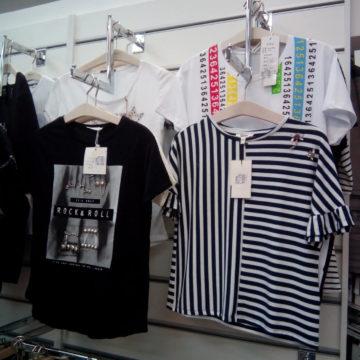 Торговое оборудование для магазинов одежды. Экономпанели и навеска на них