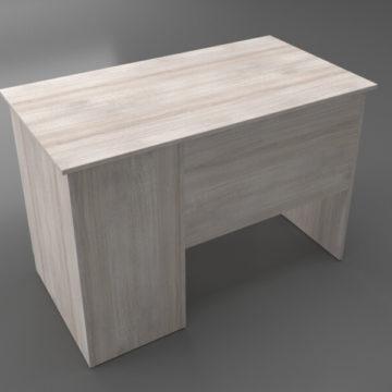 Офисный стол с ящиками (вид сзади)