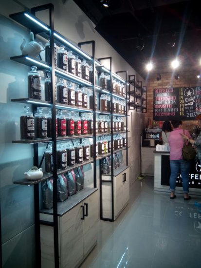 Торговое оборудование для кофейни