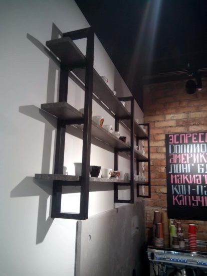 Кофейная полка фото