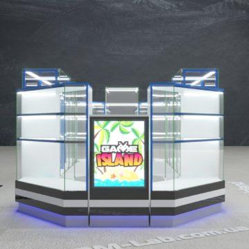 Дизайн торговых островков