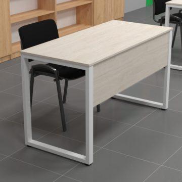 Металлический стол с экраном