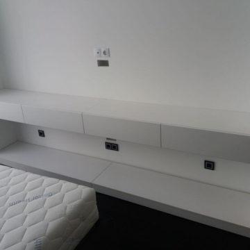 Навесная тумба под ТВ (шкаф под ТВ)