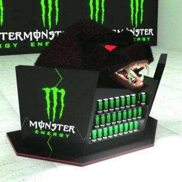 Бренд-стойка Monster Energy