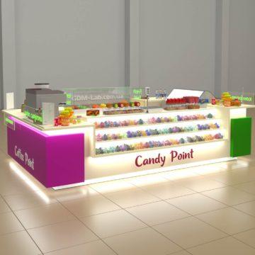 Торговый островок сладостей