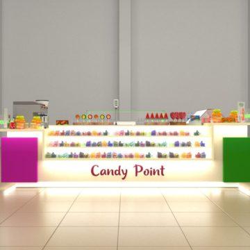 Торговый островок для конфет