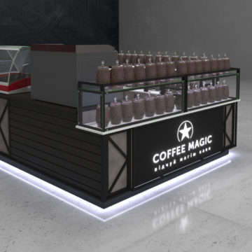 Дизайн кофейного островка