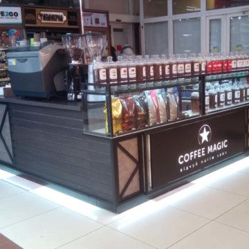 Кофейный островок Coffee Magic в ТЦ Мириада г.Днепр