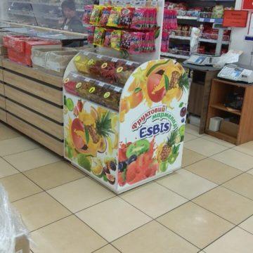 Торговая стойка для сладостей