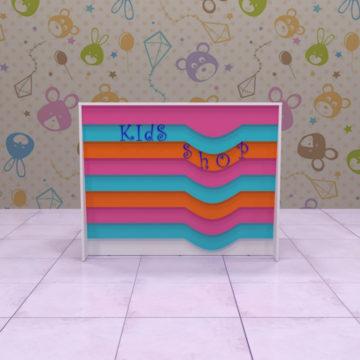 Ресепшн для детского магазина