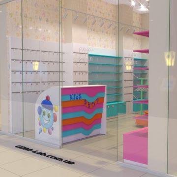 Магазин детской одежды дизайн