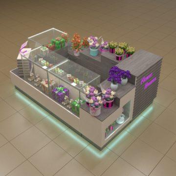 Торговый островок для цветов