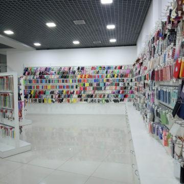 Торговая мебель для мобильных аксессуаров
