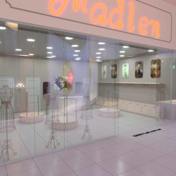 оборудование для женского магазина одежды