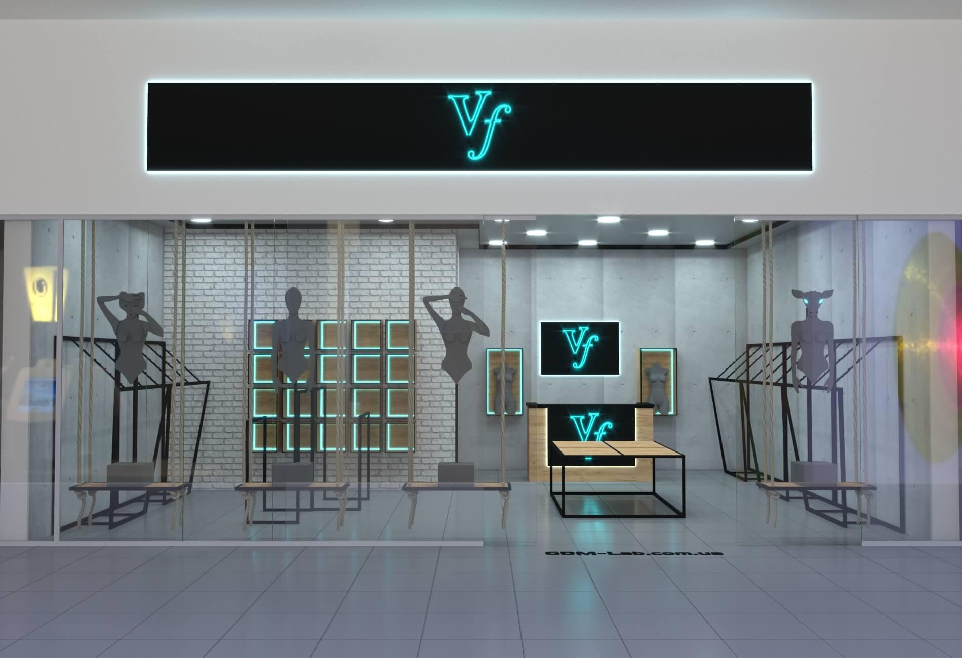 e822927be8e Торговое оборудование для магазина одежды — GooD Мебель
