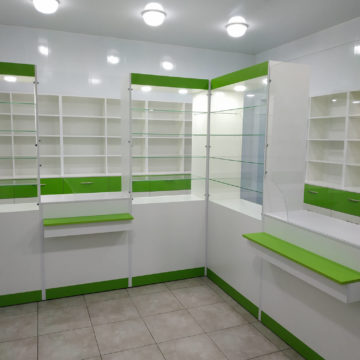 Мебель для аптеки в Магдалиновку