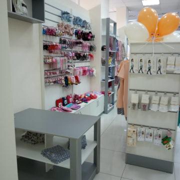 Торговое оборудование для магазина детской одежды в г. Днепр