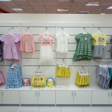 Магазин детской одежды в ЦУМе (г. Днепр)