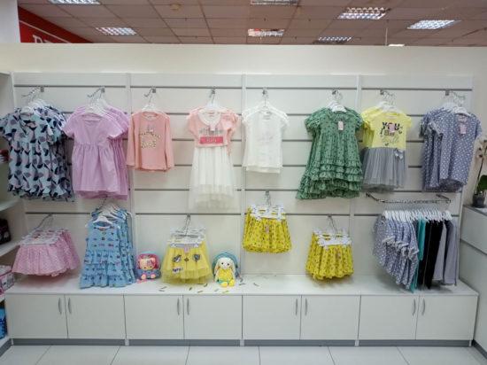 Экономпанели для магазина детской одежды