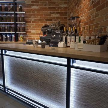Кофейня в стиле лофт