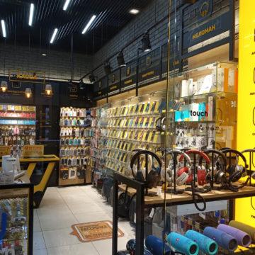 Магазин электроники и гаджетов Touch. Правая сторона
