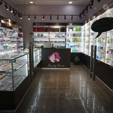 Магазин косметики. Важность подсветки торгового оборудования