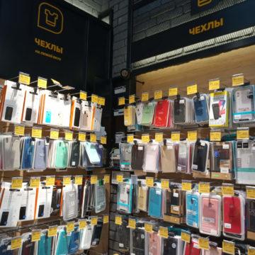 Экономпанели для аксессуаров магазина электроники Touch