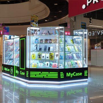 Торговый островок мобильных аксессуаров MyCase