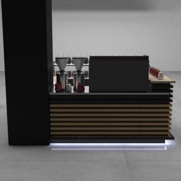 Визуализация кофейного островка