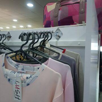 Торговое оборудование для пижам и халатов