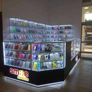 Торговый островок мобильных аксессуаров SmileMobile (ЦУМ, г. Днепр)