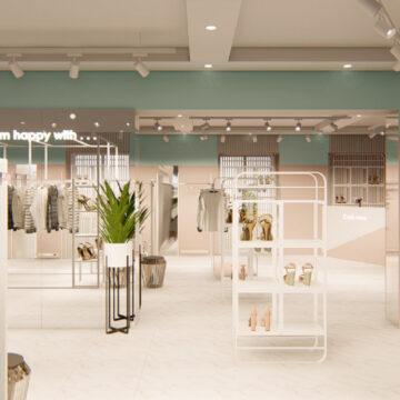 Дизайн-проект (визуализация) магазина одежды и обуви DressCode