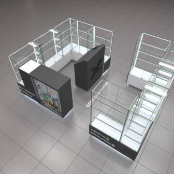 Торговый островок для техники Apple xVision