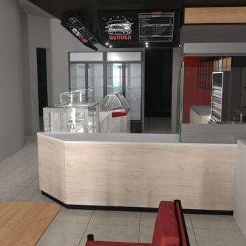 Торговая мебель для заправок (АЗС)
