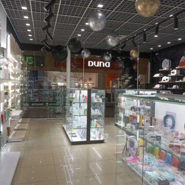 Фото торгового оборудования для магазина профессиональной косметики