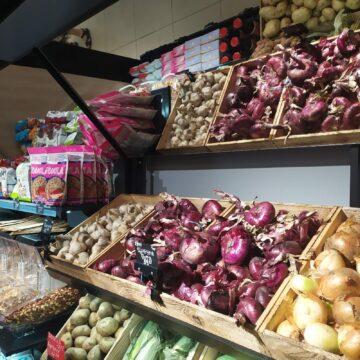 Стеллаж Здорового Питания и Стеллаж для Овощей