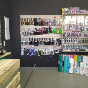 Экономпанели в магазин профессиональной косметики