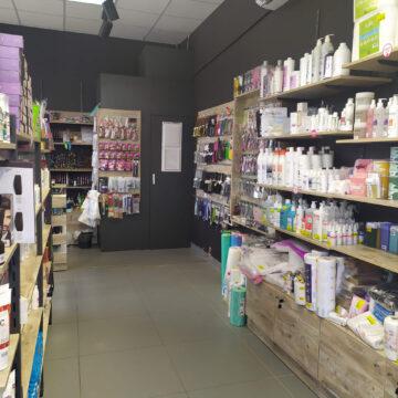 Торговое оборудование для магазина профессиональной косметики